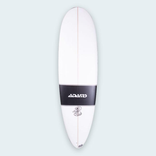 The Cobra Mini Longboard Surfboard Matt Adams Surfboards