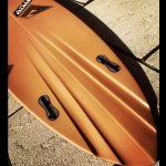 pin twin surfboard